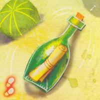 Бутылки с посланиями, 1 шт.