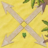 Стрелка в четыре направления диагональная