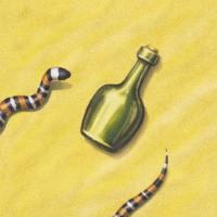 Бутылки рома, 1 шт.