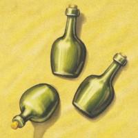 Бутылки рома, 3 шт.