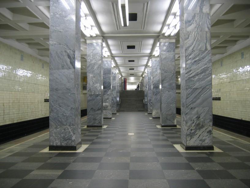 Станция Сокольники, общий вид