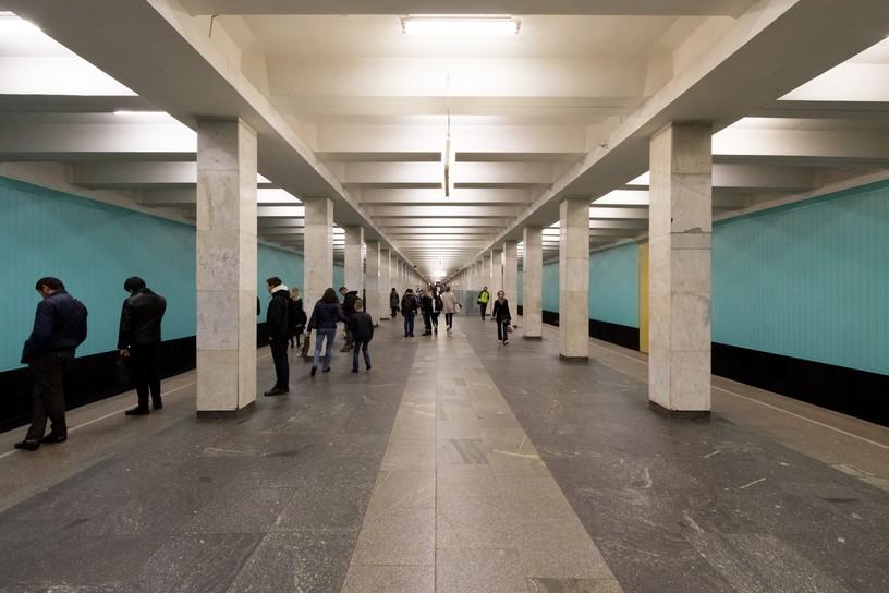 Станция Юго-Западная, общий вид