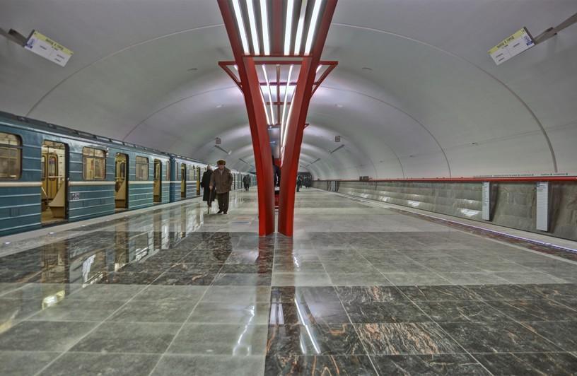 Станция Алма-Атинская, общий вид