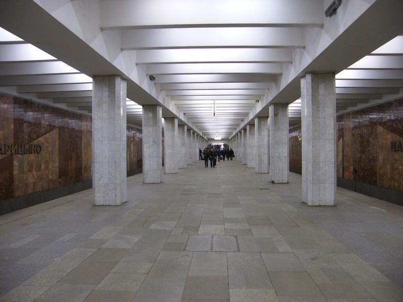 Станция Царицыно, общий вид