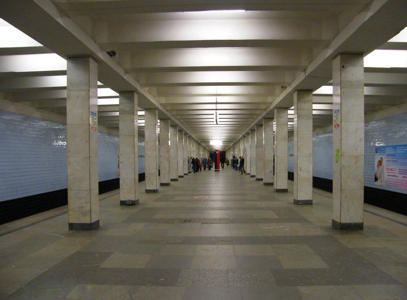 Станция Войковская, общий вид