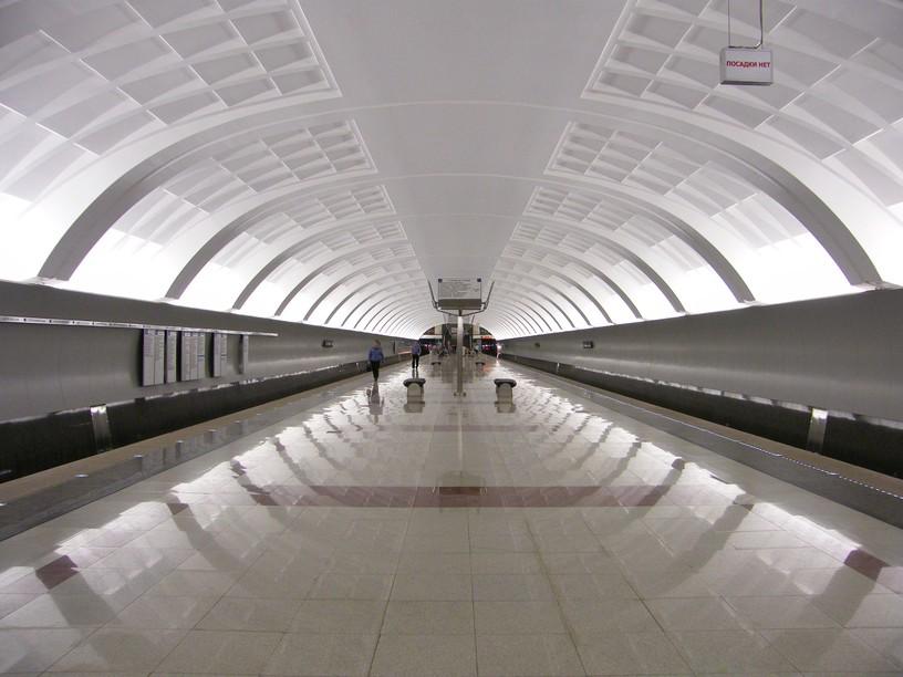 Станция Митино, общий вид