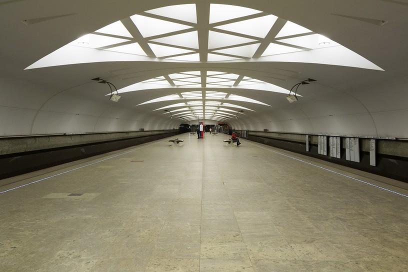 Станция Строгино, общий вид