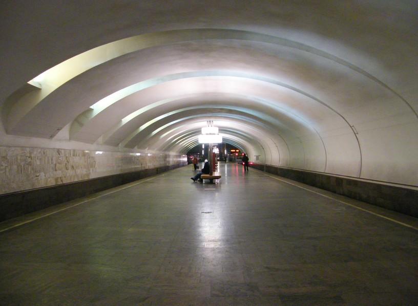 Станция Крылатское, общий вид