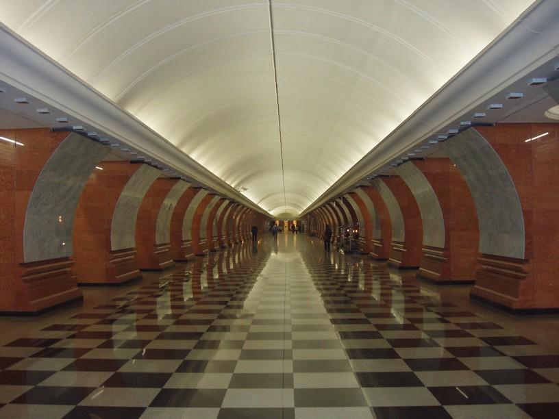 Станция Парк Победы, южный зал