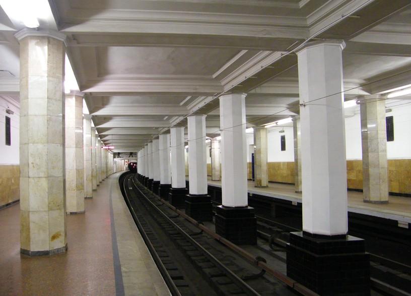 Станция Александровский сад, платформа