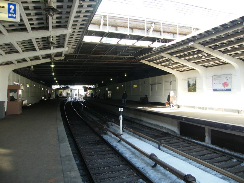 Станция Кутузовская, платформа