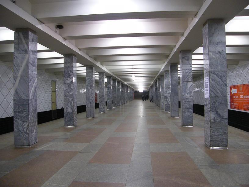 Станция Профсоюзная, общий вид