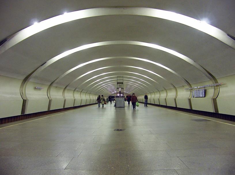 Станция Коньково, общий вид
