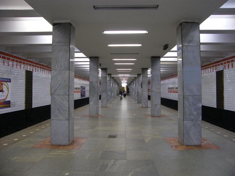 Станция Рязанский проспект, общий вид