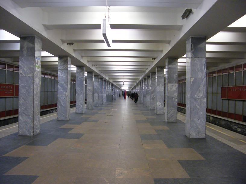 Станция Текстильщики, общий вид