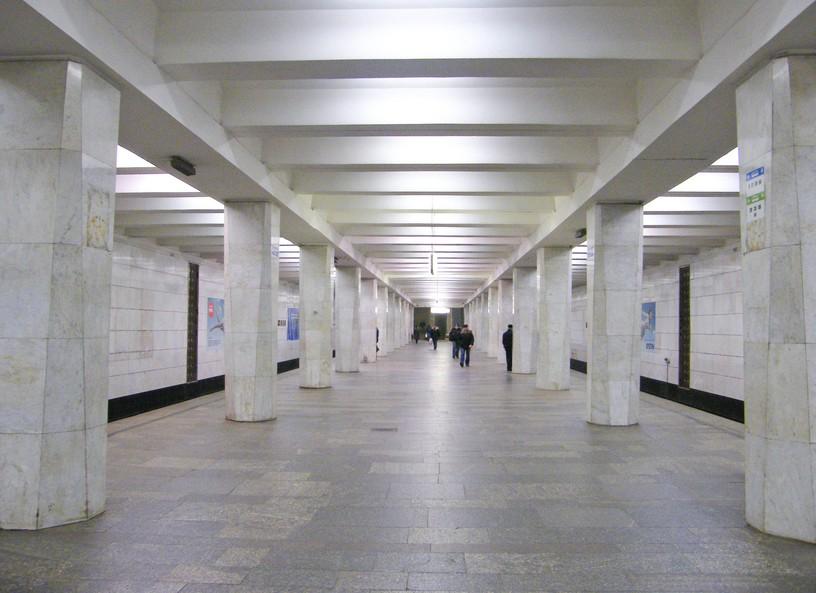 Станция Беговая, общий вид