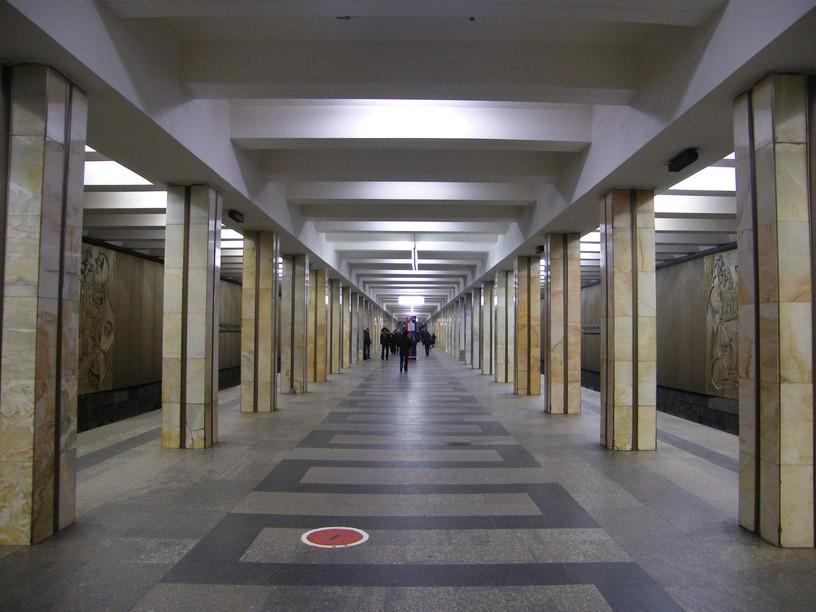 Станция Щукинская, общий вид
