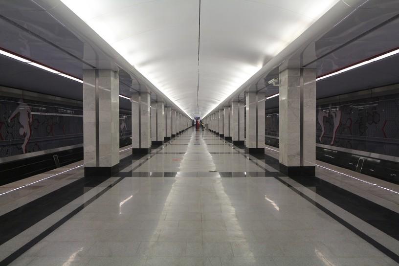 Станция Спартак, общий вид