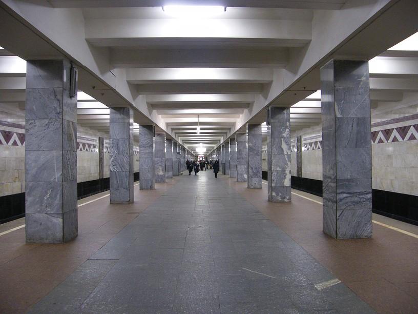 Станция Тушинская, общий вид