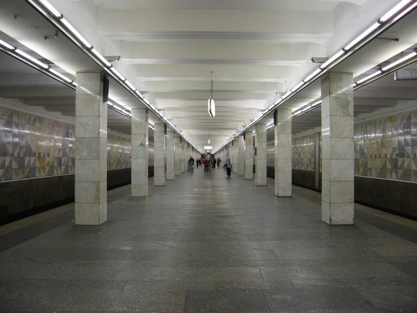 Станция Планерная, общий вид