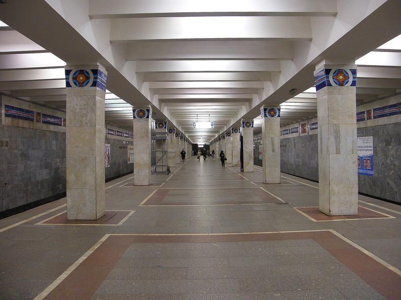 Станция Новогиреево, общий вид