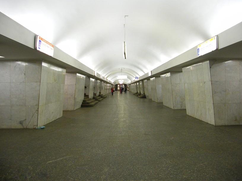 Станция Третьяковская, южный зал