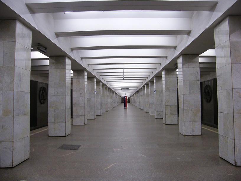 Станция Владыкино, общий вид