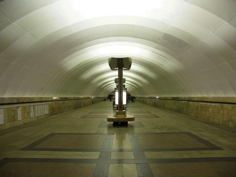 Станция Тимирязевская, общий вид