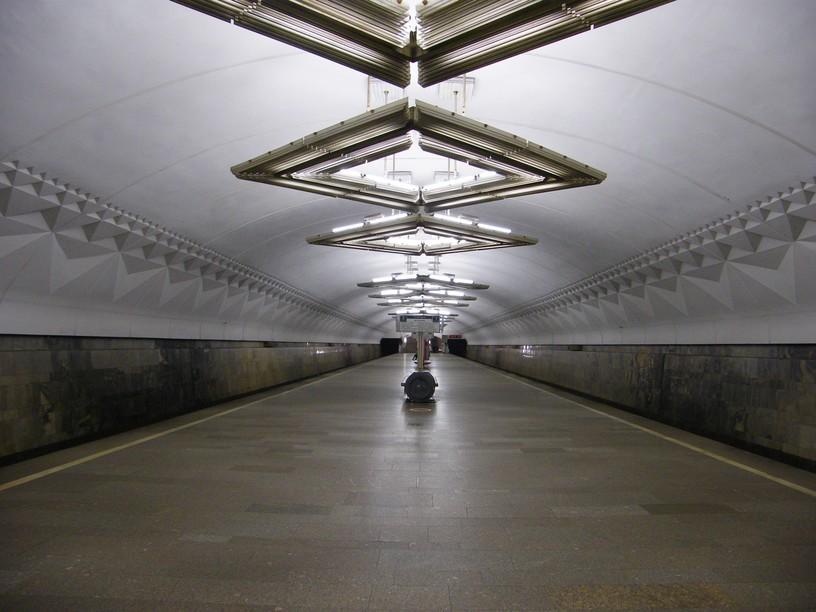Станция Тульская, общий вид