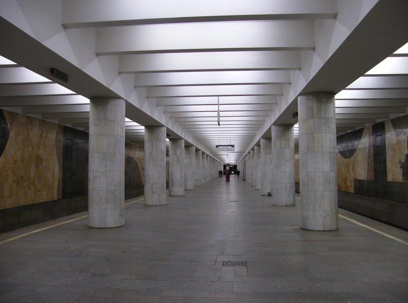 Станция Нагатинская, общий вид