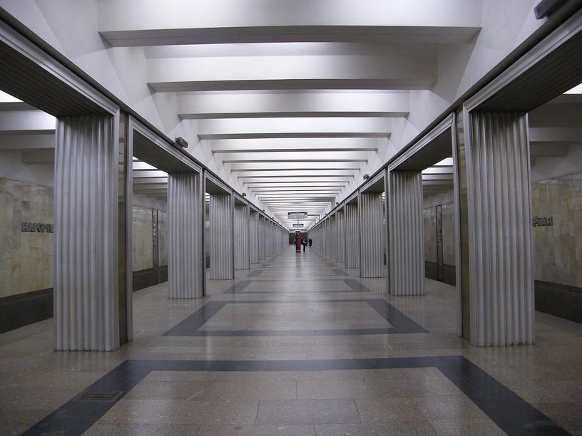 Станция Нагорная, общий вид
