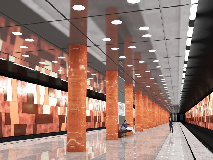 Станция Улица 800-летия Москвы, проект