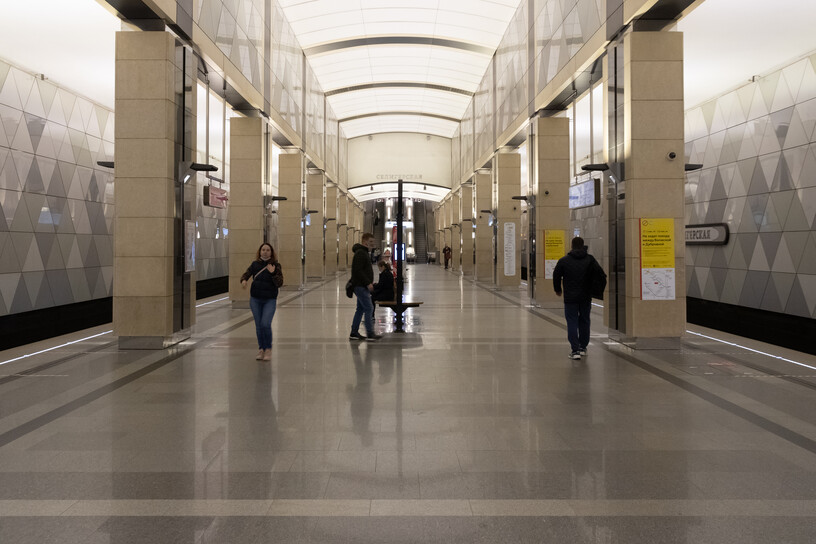 Станция Селигерская, общий вид