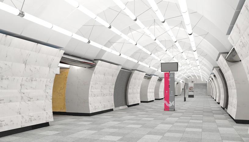 Станция Окружная, проект