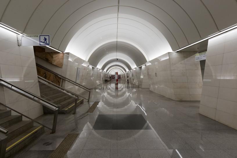 Станция Петровско-Разумовская, восточный зал