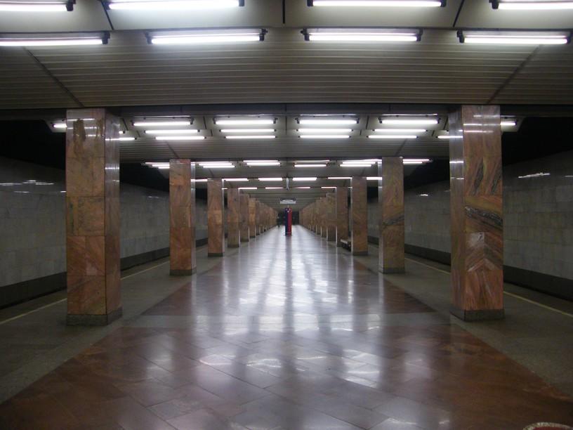 Станция Печатники, общий вид