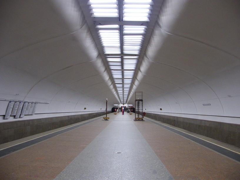 Станция Люблино, общий вид