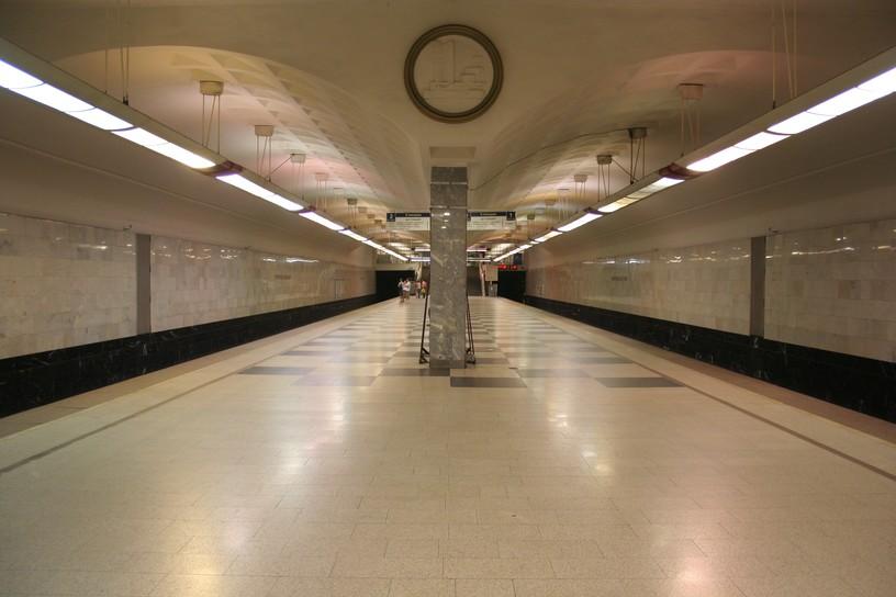 Станция Братиславская, общий вид