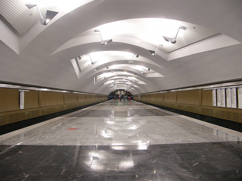 Станция Шипиловская, общий вид