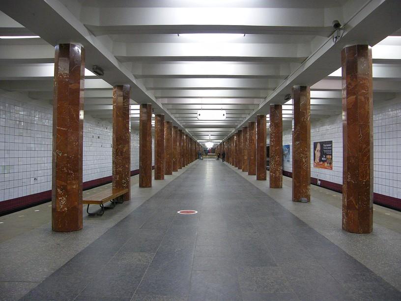 Станция Каховская, общий вид