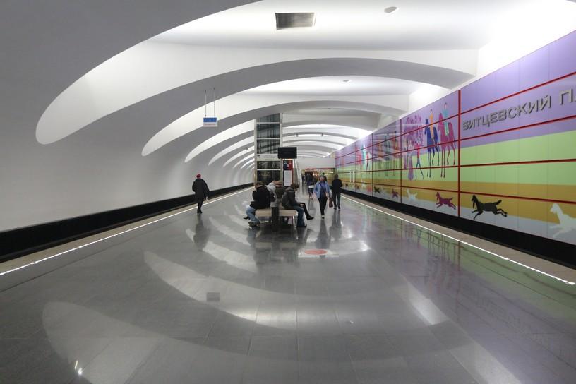 Станция Битцевский парк, общий вид