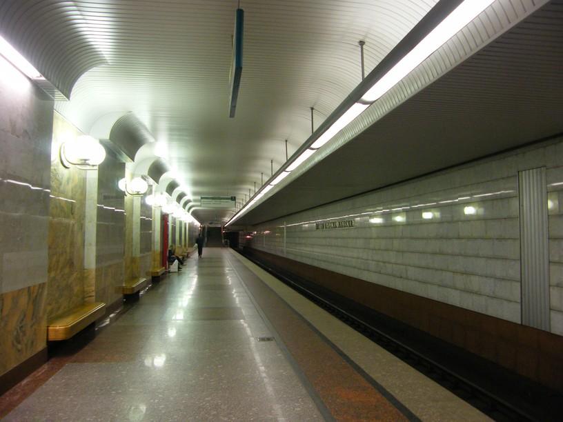 Станция Улица Старокачаловская, платформа