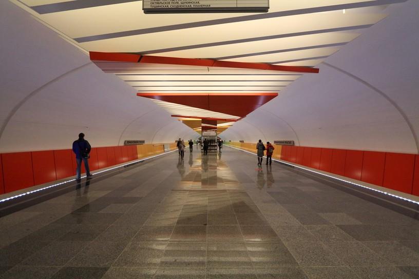 Станция Лермонтовский проспект, общий вид