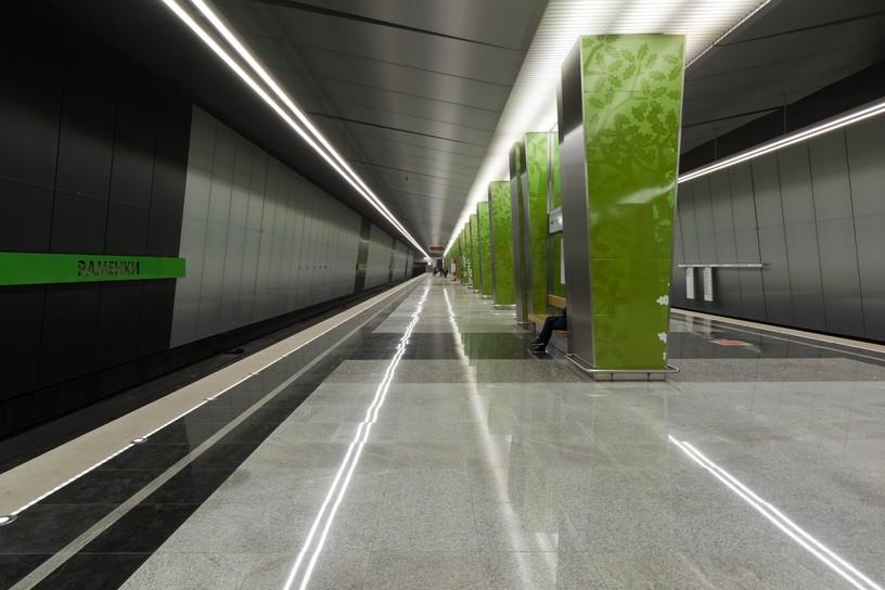 Станция Раменки, общий вид