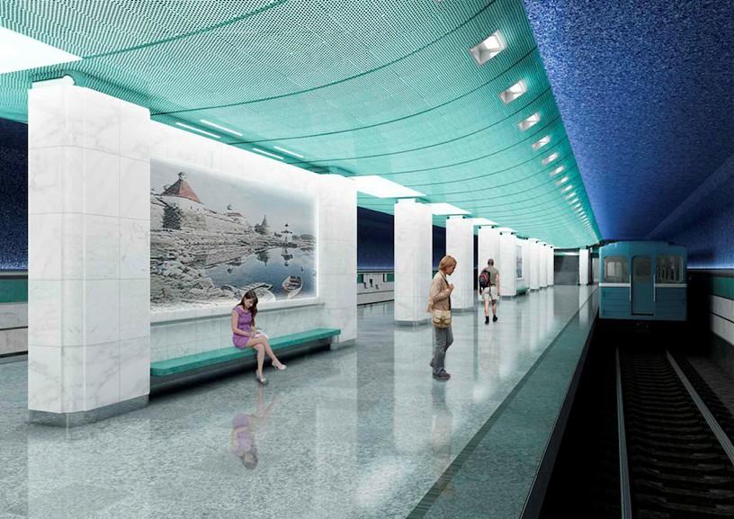Станция Беломорская, проект