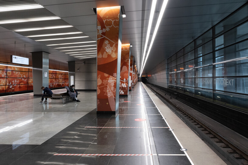 Станция Мичуринский проспект, общий вид