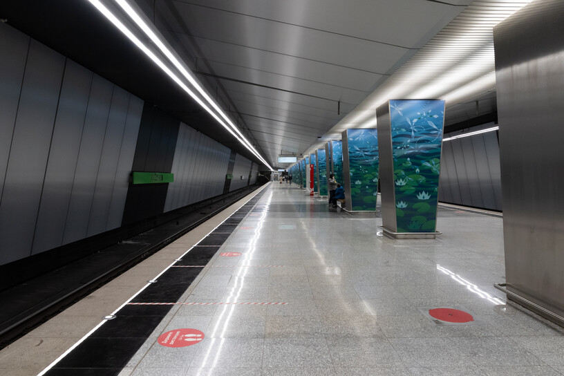 Станция Озёрная, общий вид
