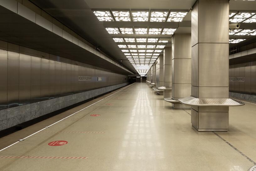 Станция Новопеределкино, общий вид