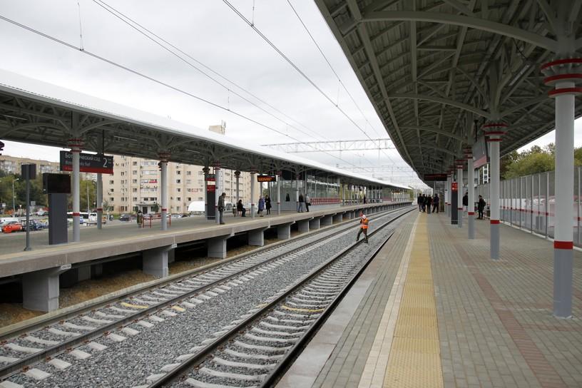 Станция Ботанический сад, платформа