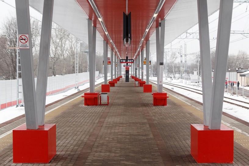 Станция Ростокино, общий вид